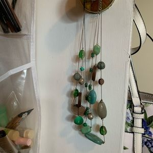 Set of 2 green colored jewelry